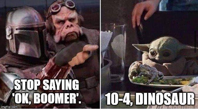 Pin By Josh Carson On Humorosity In 2020 Star Wars Humor Yoda Meme Star Wars Jokes