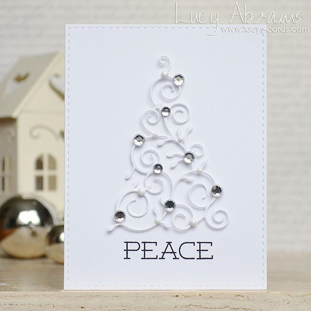 Adore this Peace Tree by Lucy Abrams!! So elegant!