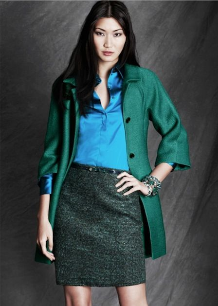Stylish ideas to update your wear-to-work wardrobe from Ann Taylor's fall 2012 collection