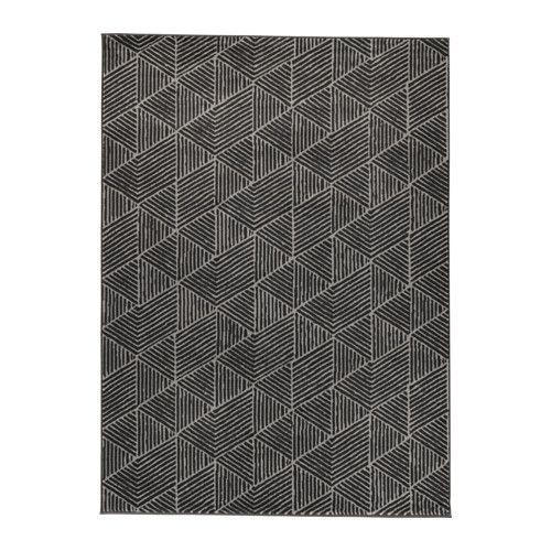IKEA - STENLILLE, Tapis, poils ras, , Le velours dense et épais atténue le bruit et constitue une surface douce sous les pieds.Ce tapis en fibres synthétiques est résistant, anti-tache et facile d