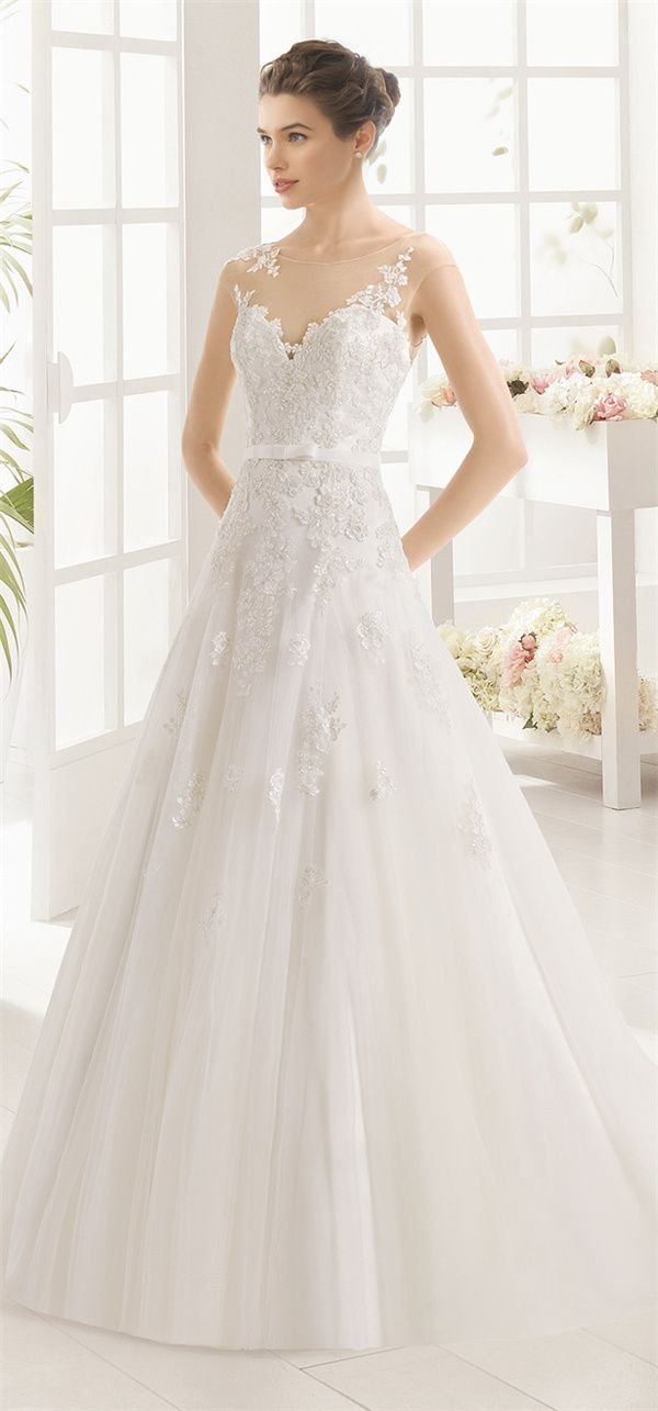 Aire Barcelona Wedding Dresses 2016 Collection | http://www.deerpearlflowers.com/aire-barcelona-wedding-dresses-2016-collection/