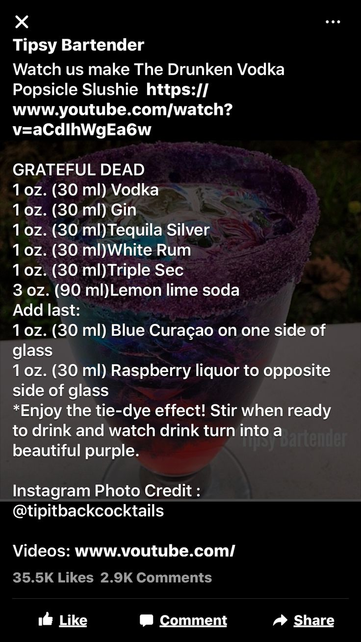 Grateful dead drink!
