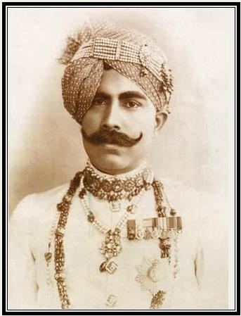Maharaja Sir Ganga Singhji of Bikaner. Born: 13th Oct. 1880 Demise: 3rd Feb. 1943 #Maharaja #royal