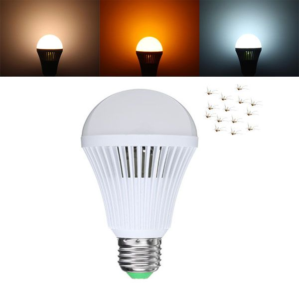 E27 Mosquito Repeller Insects Camping Tent Emergency Led Light Bulb Outdoor Ac85 265v