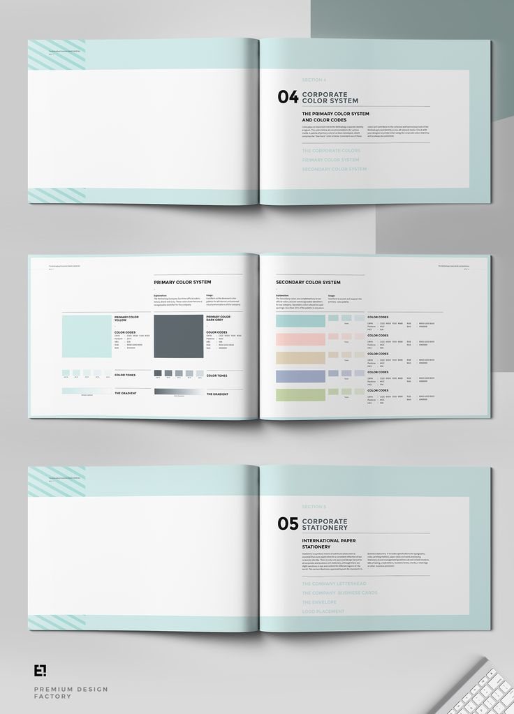 81 best Branding Guidelines images on Pinterest Corporate design - product manual template