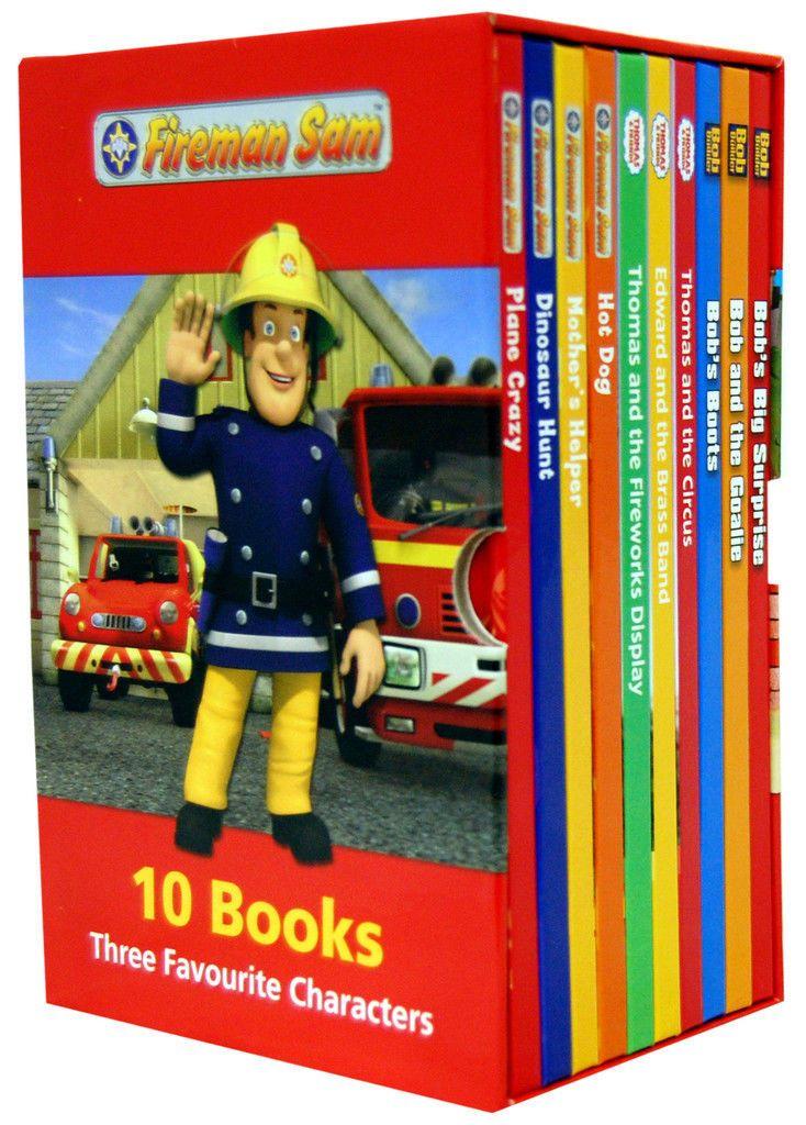 Fireman Sam + Bob The Builder + Thomas The Tank Engine 10 Books Box Set New Gift in Books, Comics & Magazines, Children's & Young Adults, Non-Fiction | eBay