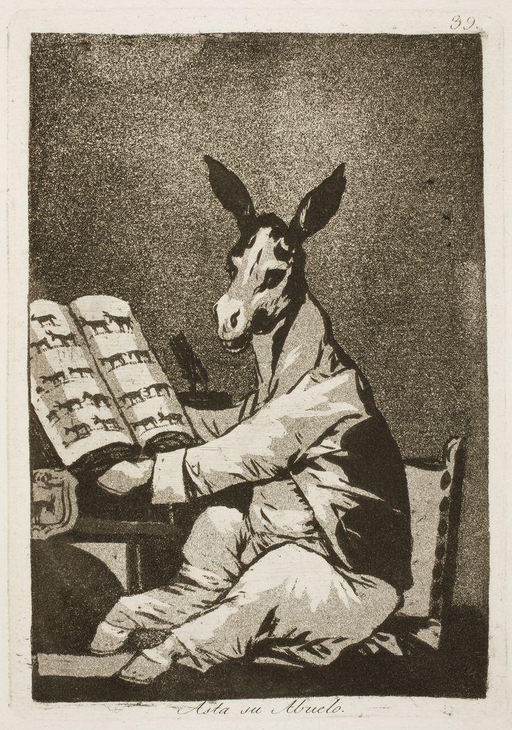 Goya, Jusqu'à son grand-père, 1799