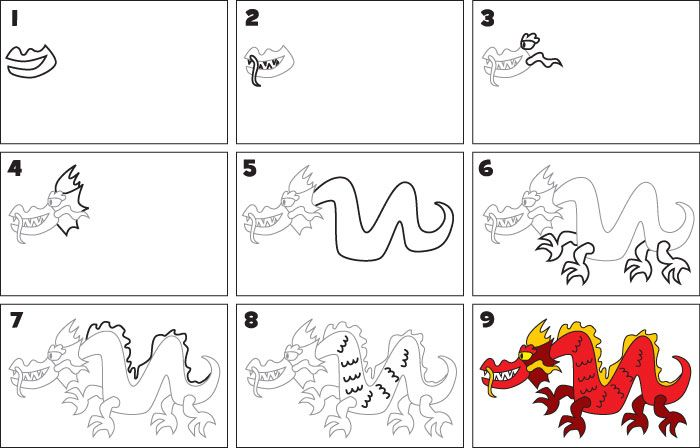 how to draw a chinese s