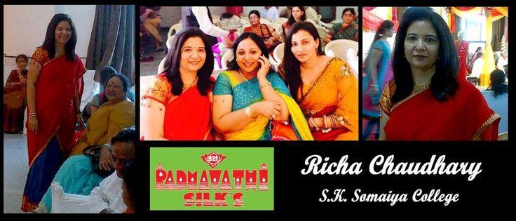 Chennai Express style half-sarees, customised for you! Only at Sri Padmavathi Silks, Dombivli, Mumbai, Maharashtra, India Ph: +919821054556 #Kancheepuram #Silk #HalfSaree #ChennaiExpressStyle