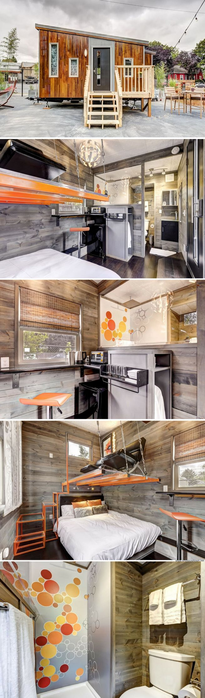 modern tiny house 150 sq ft turn that couch and bed into a