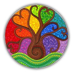 Elspeth Mclean boab tree #rainbow #elspethmclean #boab Colorful Mandalas