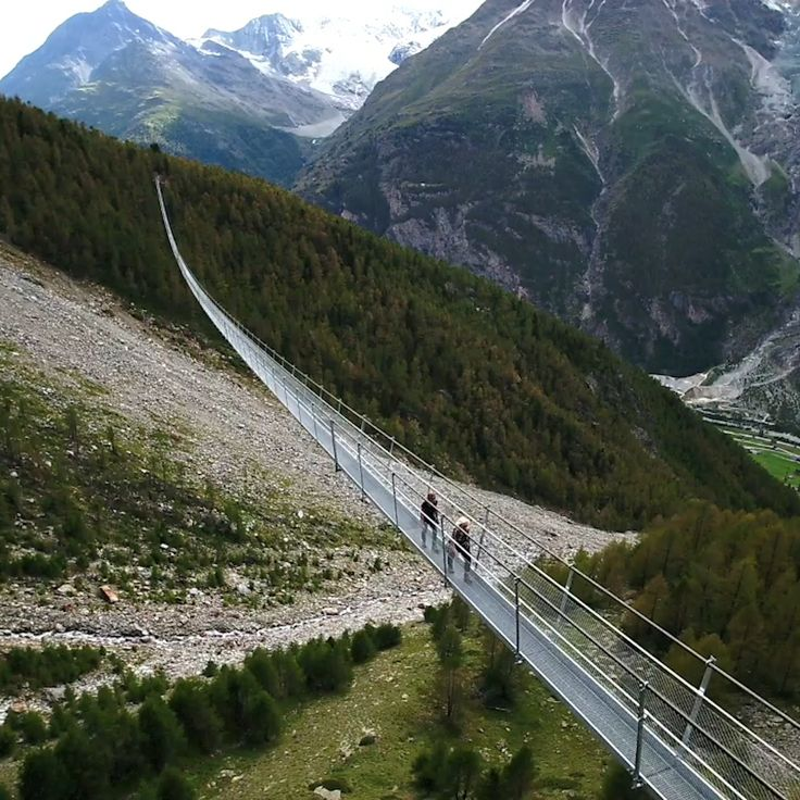 Longest Pedestrian Bridge | Switzerland Alps – Şeyda Köseoğlu