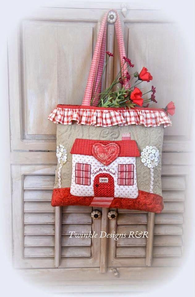 made with love patchwork tasche taschen pinterest. Black Bedroom Furniture Sets. Home Design Ideas