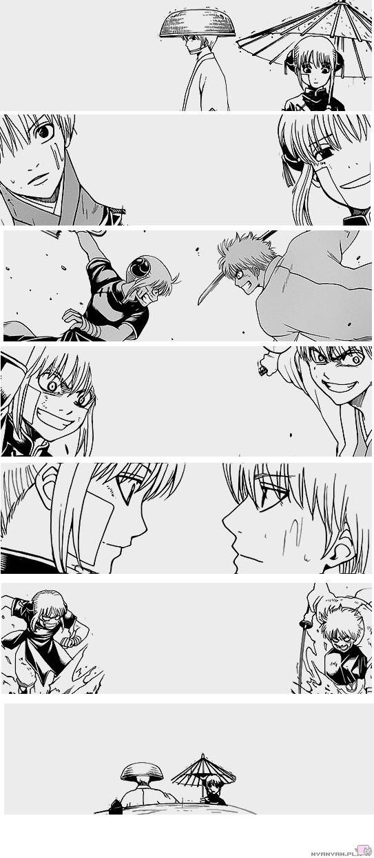 OkiKagu This is how they said goodbye... with every intention to see each other again in the future when they are stronger.