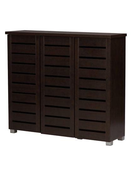 adalwin entryway 3door shoes storage cabinet