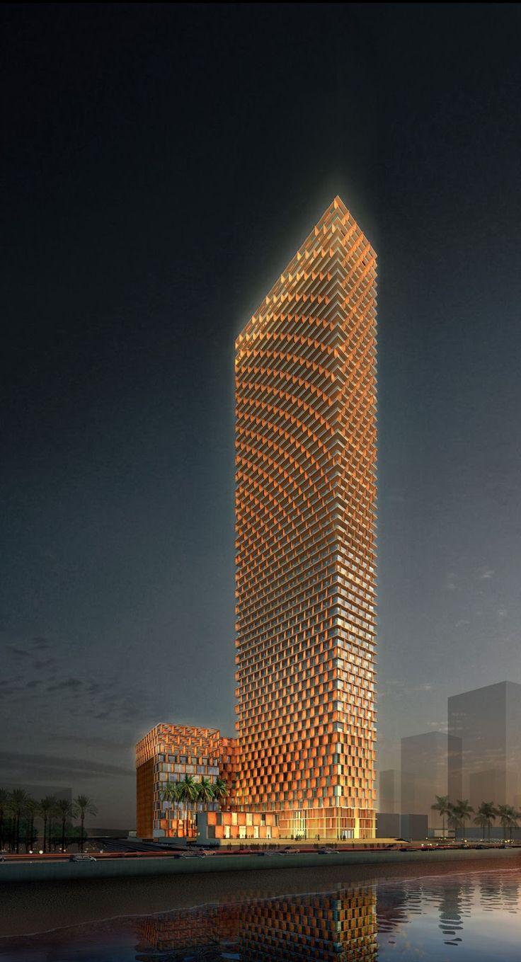 Kempinski Hotel Building, Saudi Arabia | (10 Beautiful Photos)