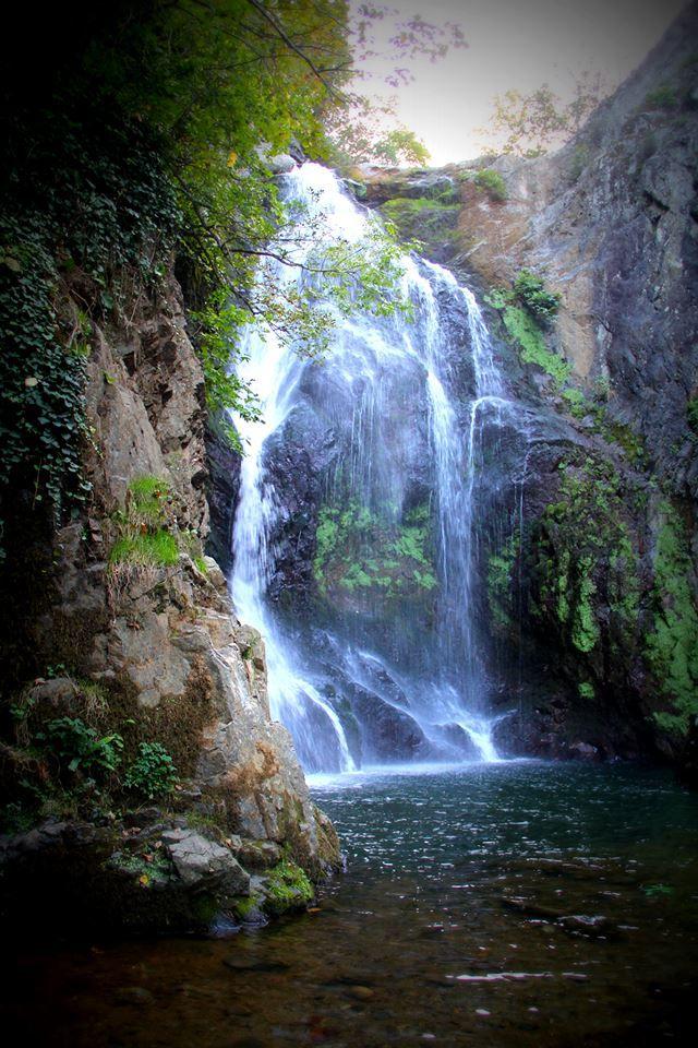 Waterfalls in Yalova, Turkey.