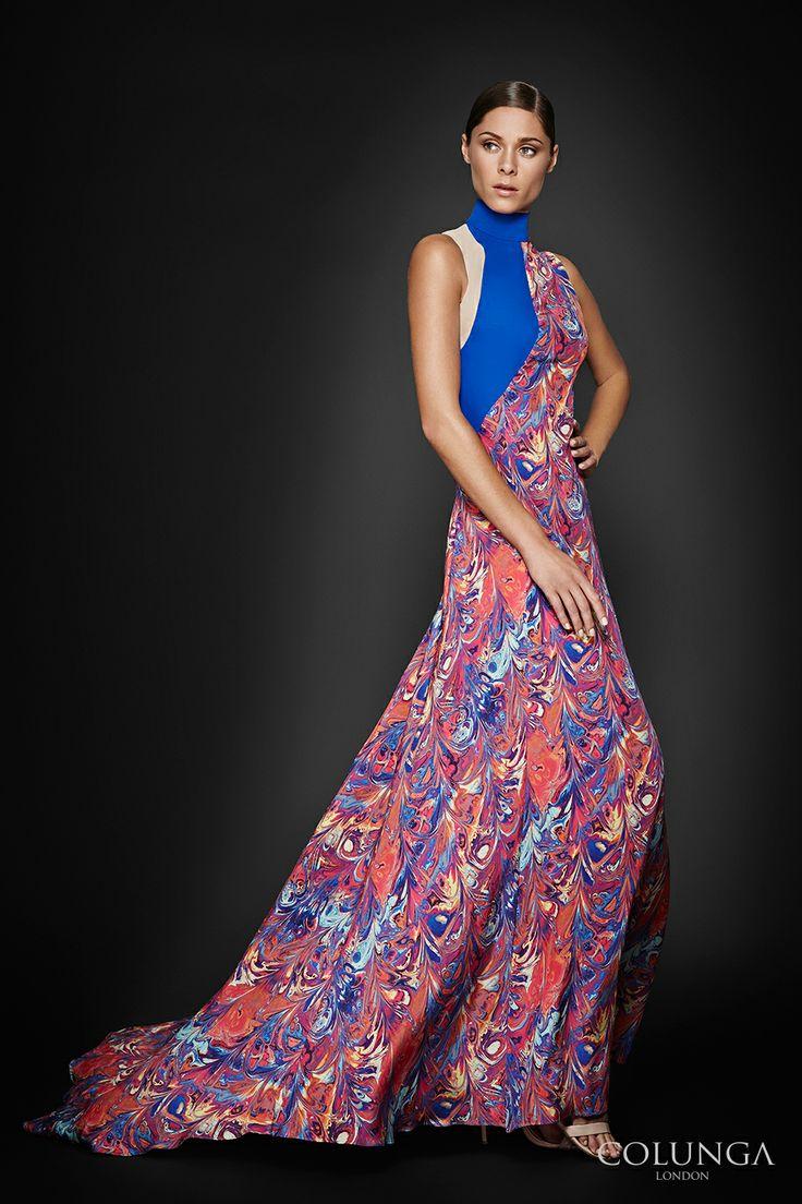 Adele de la Champagne. Gown of pure Italian silk, virgin wool and silk chiffon.