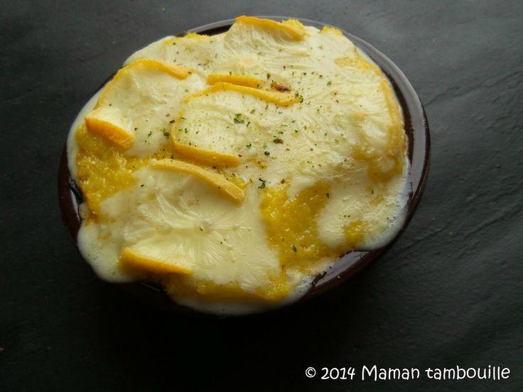 Ratatouille à la polenta et reblochon de Philippe Etchebest