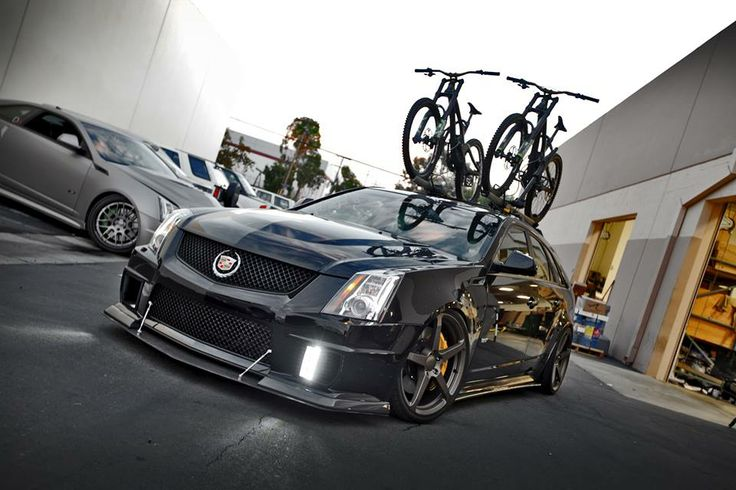 2012 cadillac cts roof rack