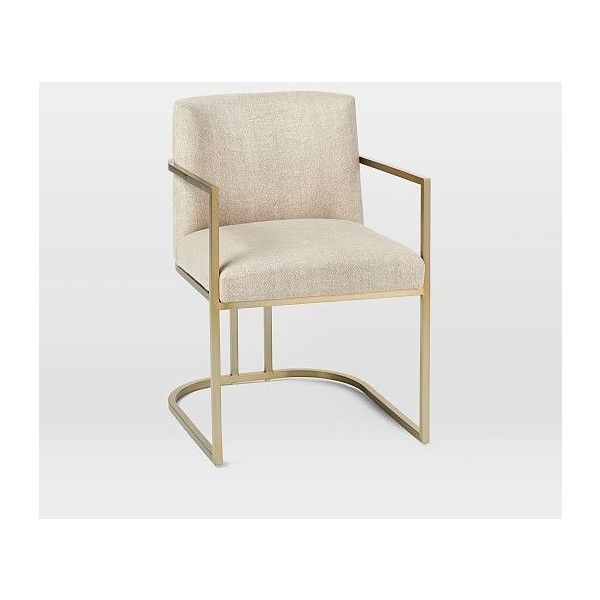 West Elm Court Dining Armchair, Hemp (32.290 RUB) ❤ liked on Polyvore featuring home, furniture, chairs, dining chairs, transitional furniture, west elm kitchen chairs, west elm armchair, transitional chairs and west elm furniture