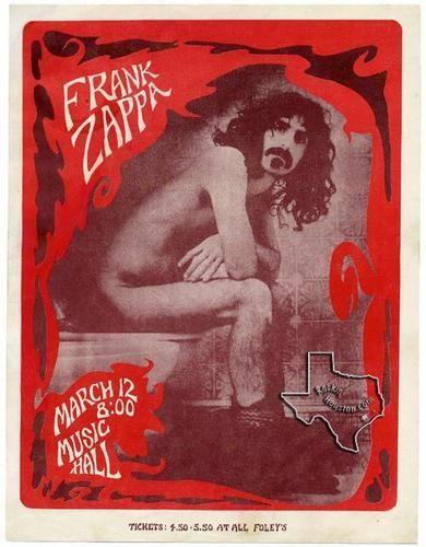 Frank Zappa, Mar 12, 1973, Houston Music Hall, TX