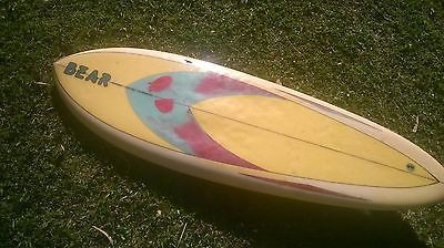 Vintage 1970's Clearline Single Fin Surfboard Trigger Bros • AUD ...