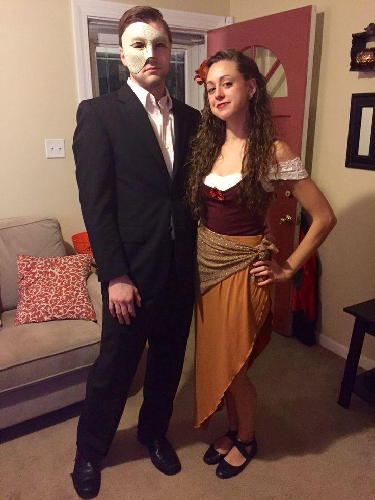 Halloween Costume DIY The Phantom of the Opera