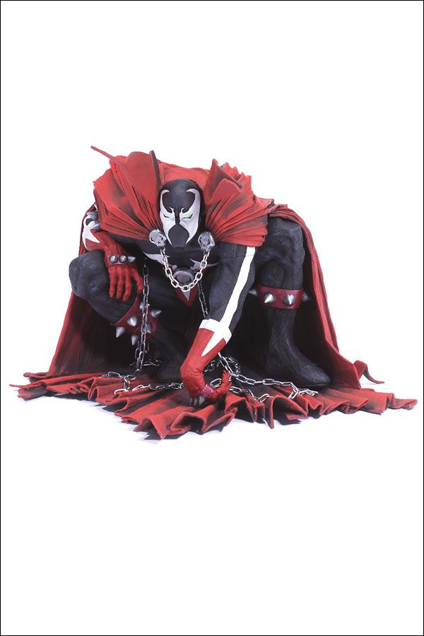 Spawn Series 26 - The Art Of Spawn - Spawn Issue 8 Cover Art 2004