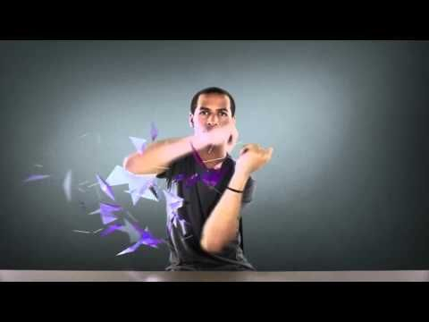For the launch of the Galaxy SII in France, Samsung brought JAYFUNK, the internet Finger Tutting phenomenon, from Los Angeles to Paris to deliver an incredible and surprising choreography.   > I tried but it's too complicated ! XD