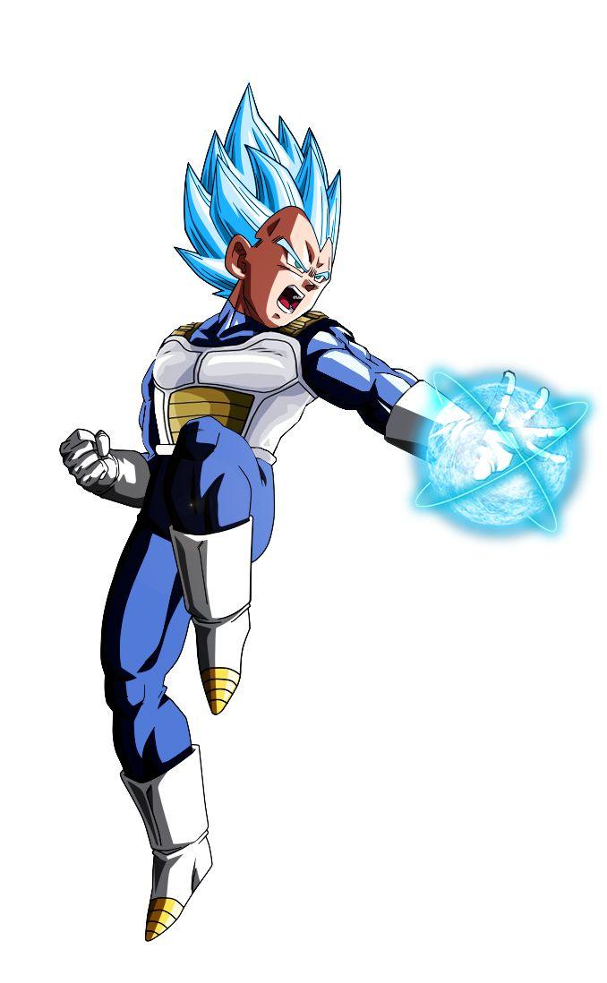 Vegeta SSJ Blue (Big Bang Attack) by alphagreywind