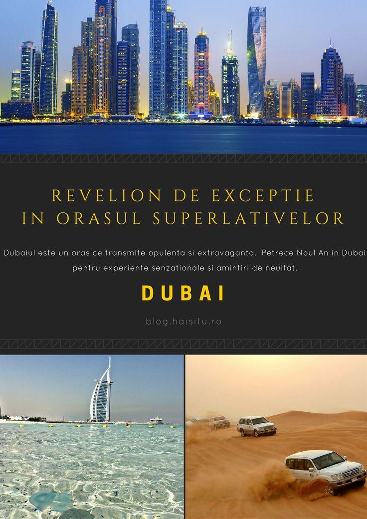 Petrece un Revelion de excepție în orașul superlativelor, Dubai! #Dubai #UAE #traveltips