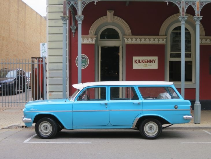 fighting for sanity in your city - sort of - A Beautiful City - Light Blue Holden at Rosie O'Grady's