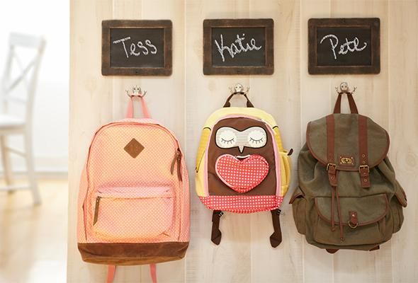 6-Step Backpack Organization