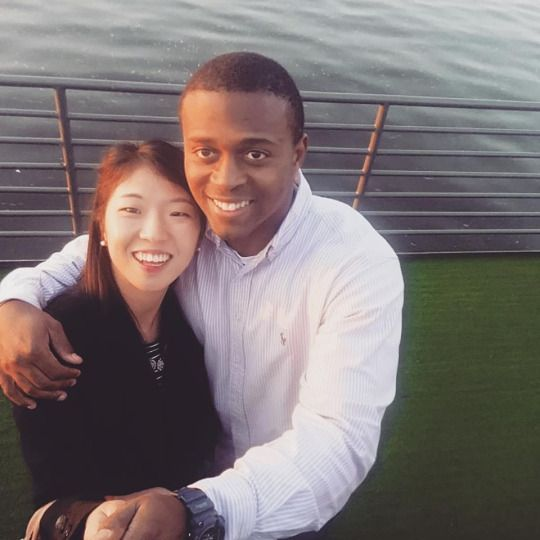 Black Asian Couple 46