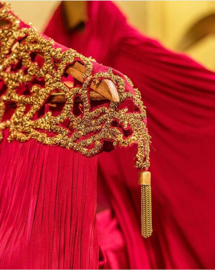 Shantanu Nikhil # hand crafted # tassel love # Gown