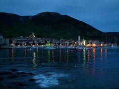 Abendstimmung, Lago, Mar, Puerto
