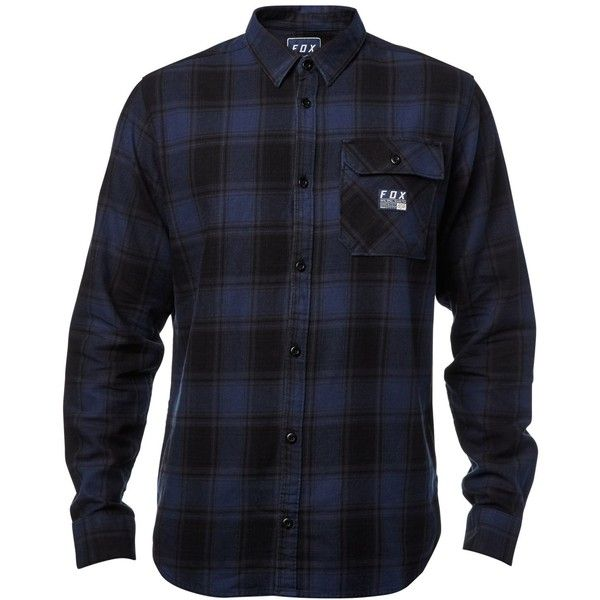 Fox delivers signature style with this all-cotton flannel button-down, designed with logo-graphics at the back of the collar for an unexpected pop of style.