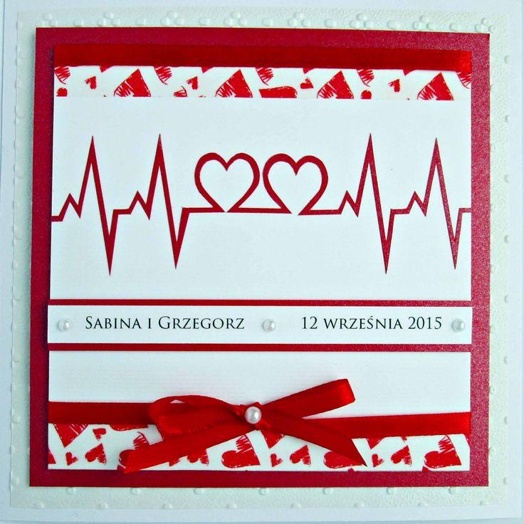 Kartka  ślubna dla ratownika medycznego #kartkaslubna #kartki #wesele
