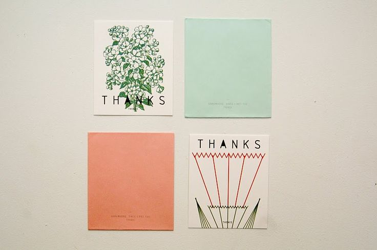korean stationery - thank you, ok
