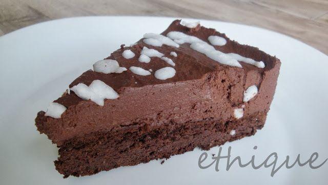 Čokoládový dort z fazolí