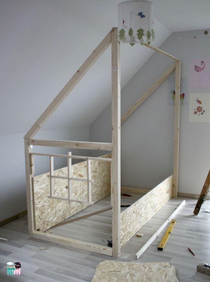 die besten 25 hausbett selber bauen ideen auf pinterest. Black Bedroom Furniture Sets. Home Design Ideas