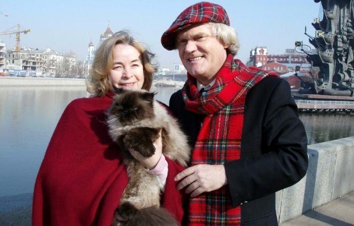 Он, она и кошки