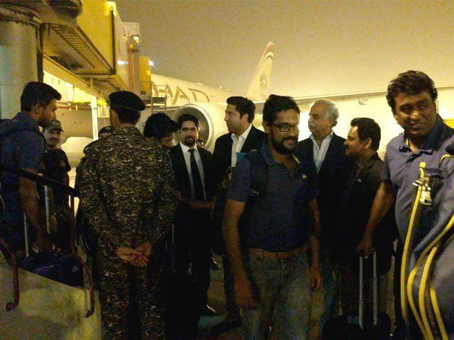 After eight years of hiatus, Sri Lankan cricket team returns to Pakistan