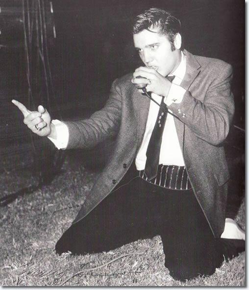11 Octobre 1956 Elvis Presley : Cotton Bowl, Dallas