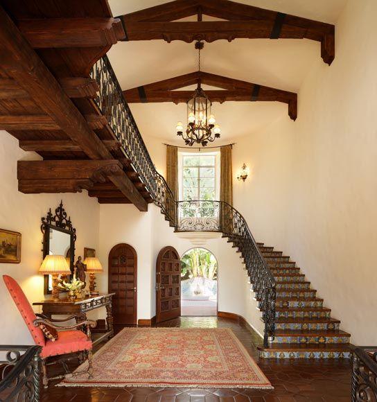 Rustic Spanish Style Sea Island House: 17 Best Ideas About Hacienda Homes On Pinterest