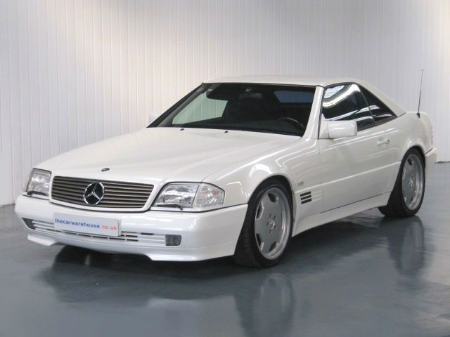 1994 MERCEDES SL500 CONVERTIBLE AUTOMATIC * LEFT HAND DRIVE * ONLY 29000 MILES