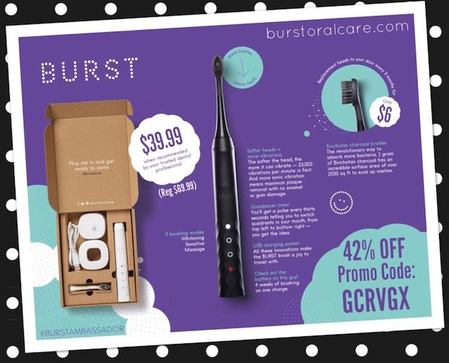 17 best BURST SONIC TOOTHBRUSH Oral Care images on Pinterest