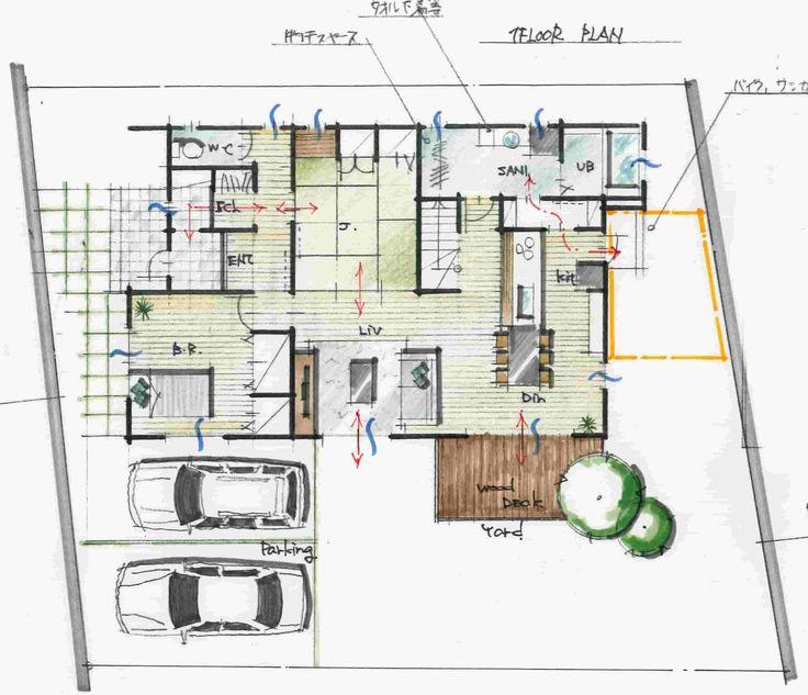 設備共有型,2世帯住宅,間取り
