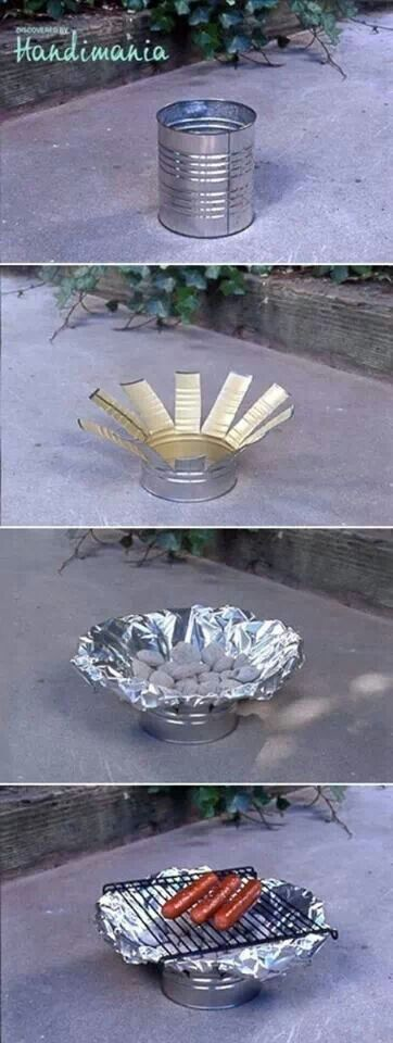 Awesome #camping #diy #barbecue